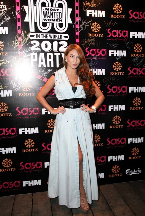 Patricia K - model and DJ is officially the most wanted women in Malaysia! And I totally agree with that.