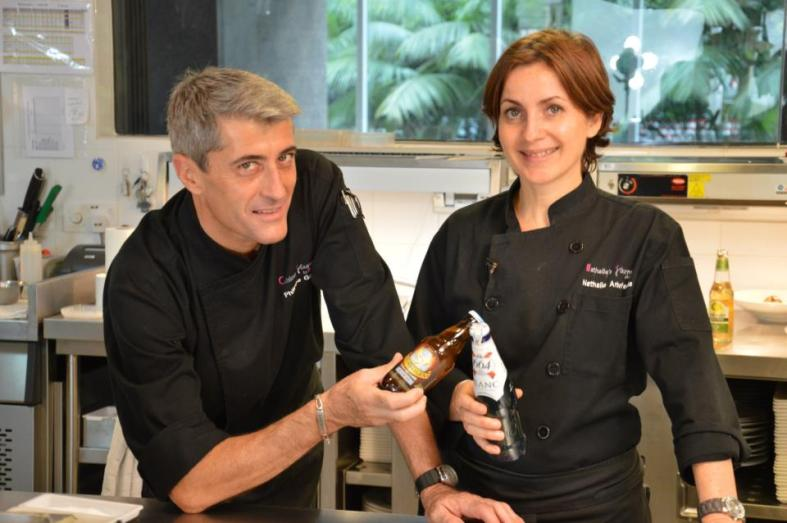 This time the French culinary skills of Chef Nathalie were put to the test