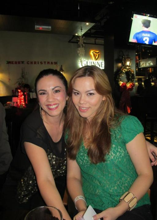 Vince Chong's sisters - Vanessa and Pamela Chong (of The Amazing Race Asia fame)