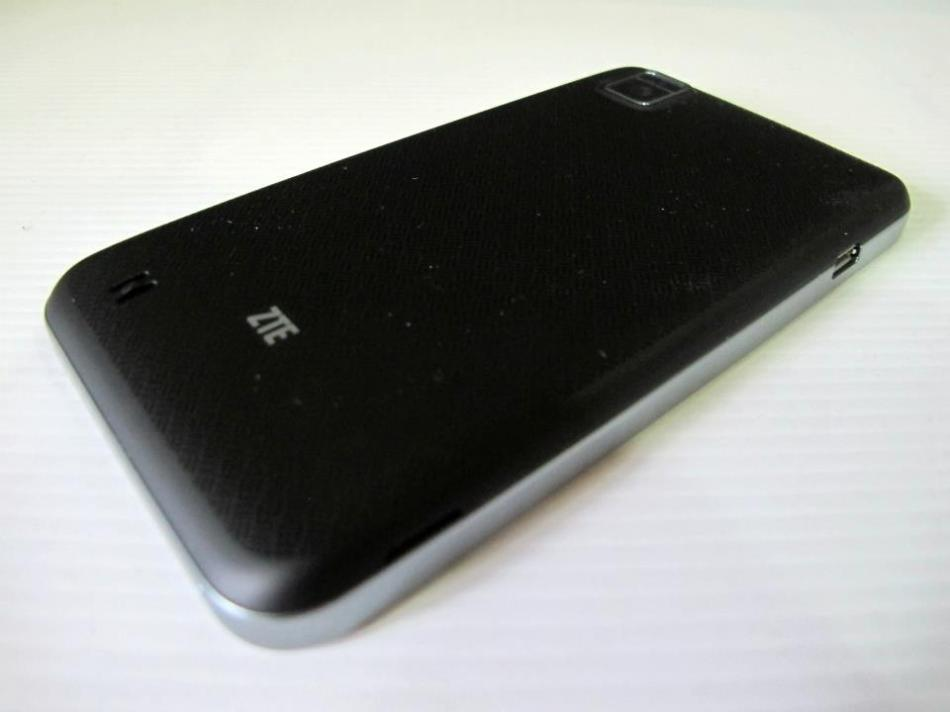 The back of the phone is a matte material which looks like it won't scratch easily.