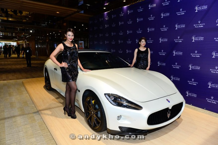 Maserati (Naza Motors) was one of the main sponsors hence this beauty was there