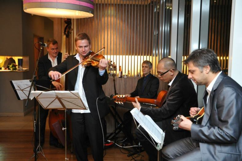 We were entertained by an international jazz band from the Malaysian Philharmonic Orchestra  during dinner. Talk about being in a posh setting!