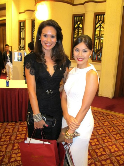 Elaine Daly and Carmen Soo