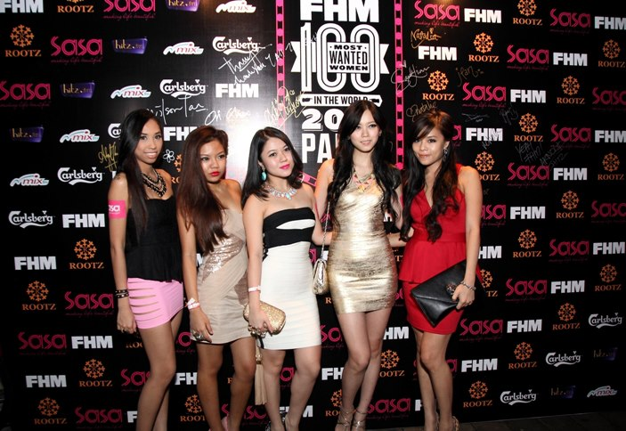 My friends Abby, Sonia, Ju Nn, Natalia and Jean