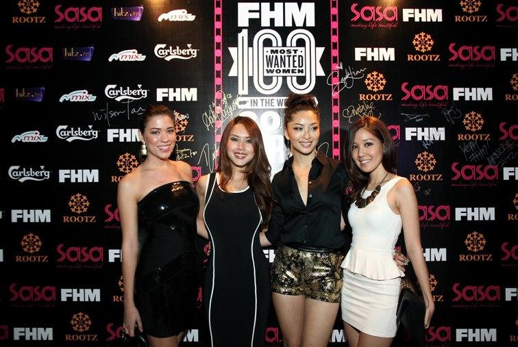 Nadia Heng, Julie Woon, Sarah Lian and Megan Tan