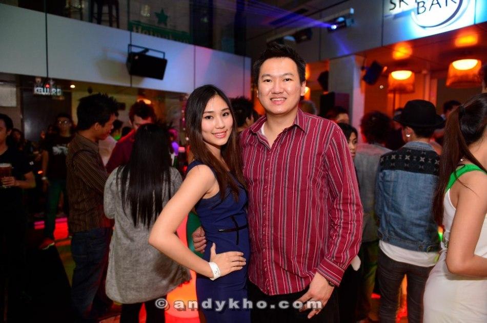 With pretty Alicia Tan