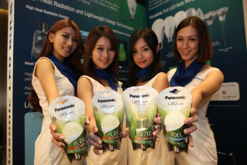The new Panasonic LED light bulbs