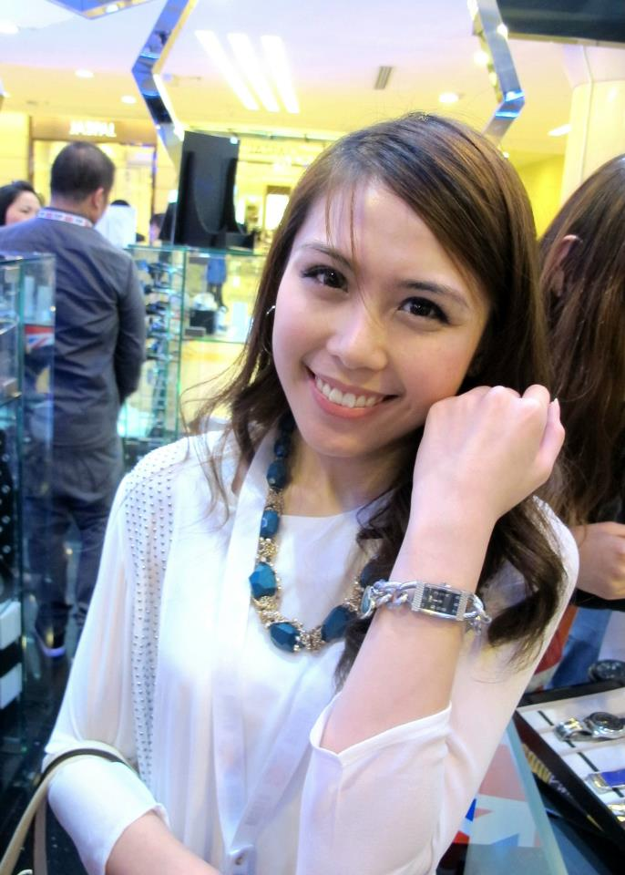 MHB's Vivian Gan with her Storm watch