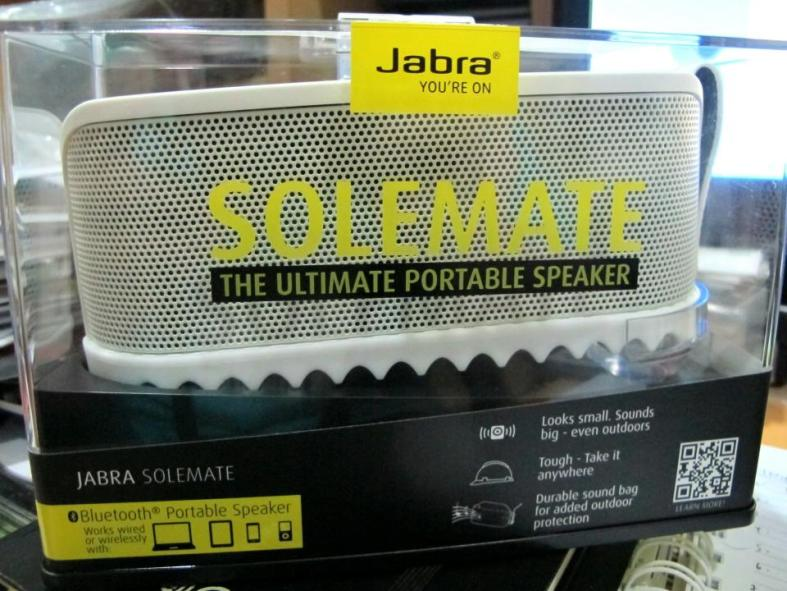 The Jabra Solemate - no it's not a shoe