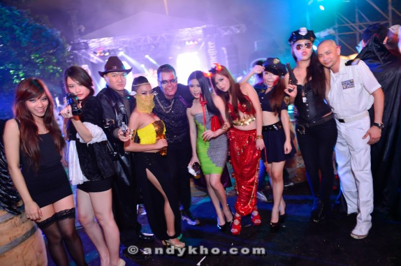 Halloween - The Beginning party at Carcosa Seri Negara by jagermeister - my first time dressing up for Halloween!