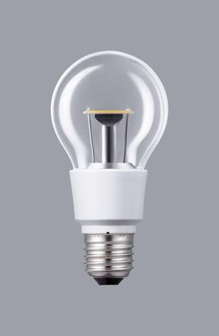 Clear glass type - looks like a traditional bulb but with terrific energy savings and lasts 40 times as long!