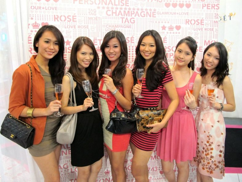 Moet & Chandon Rose Imperial collectors edition launch in conjunction with Valentines Day