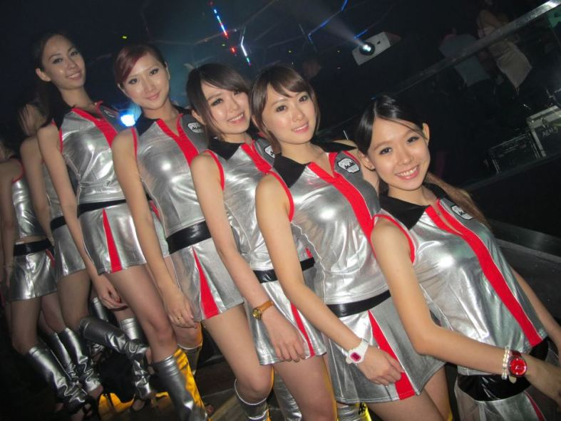The first Club Asahi party at Butter Factory