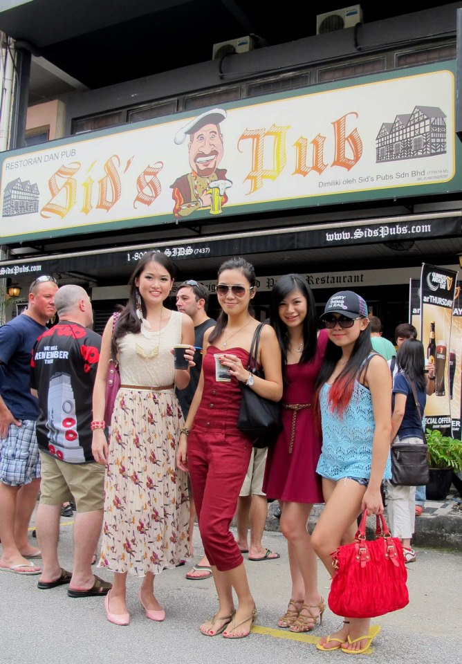 Arthur's Day pre-party at Sid's Pub TTDI.