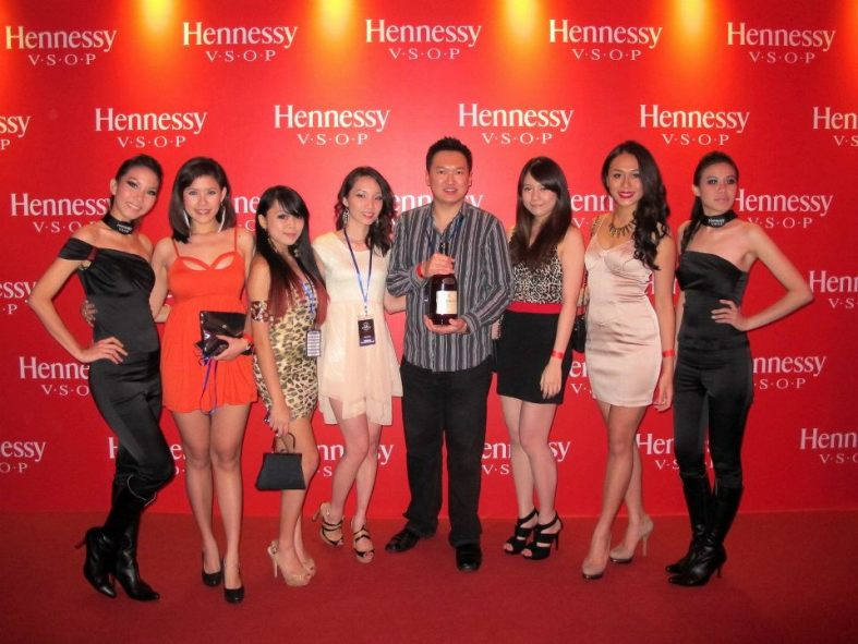 Up to Penang for the first Hennessy Artistry of 2012