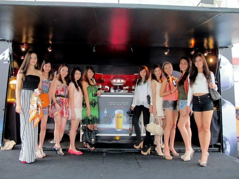Mr. Asahi launch and roadshow