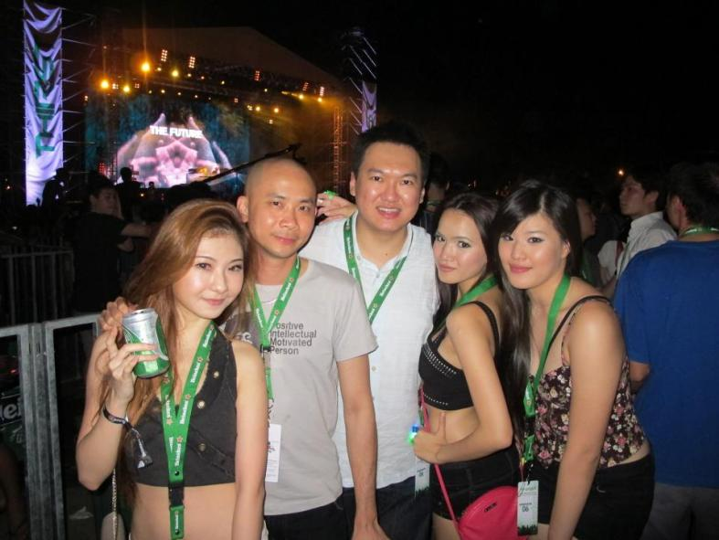 Heinelen Thirst 2012 - I went specifically to see Above & Beyond and Avicii!