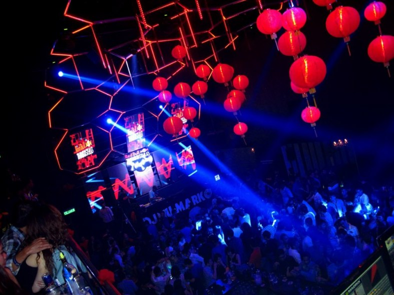 Butter Factory was decked out with some Chinese lanterns