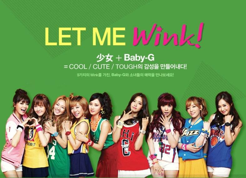 SNSD-Girls-Generation-Casio-Baby-G-Watch