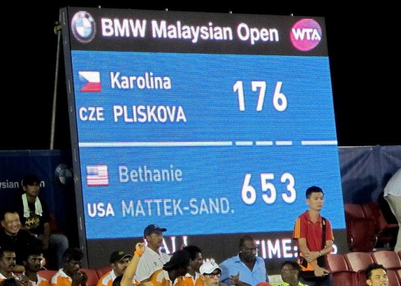 It was a tough fight but Karolina Pliskova eventually triumphed!