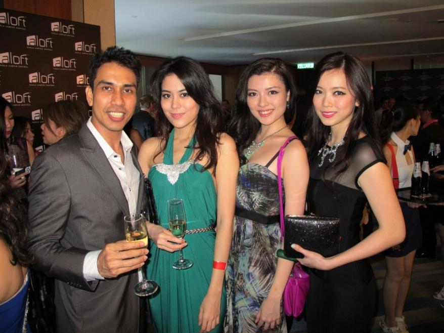 Bumped into KL's no.1 socialite Raj Aria too