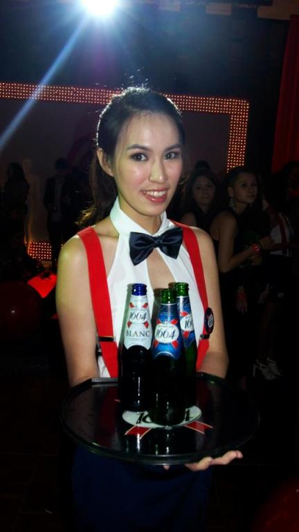Kronenbourg 1664 is one of the sponsors of STYLO Fashion Grand Prix 2013
