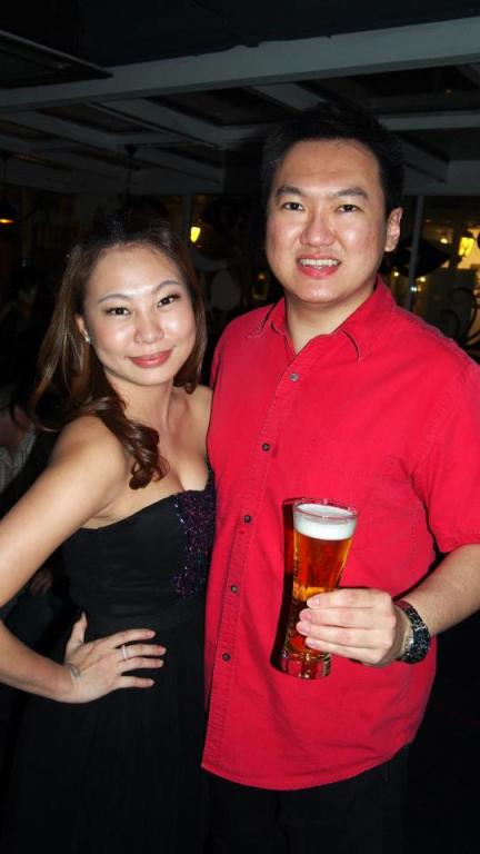 With Jeslyn my old Zouk Club kaki