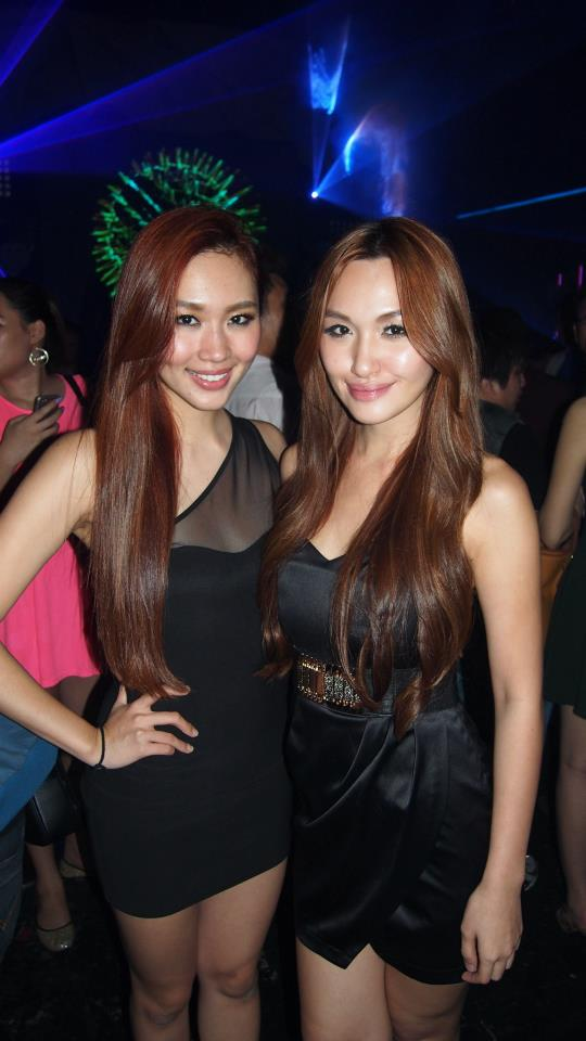 The pretty L'Oreal and Weena MArcus