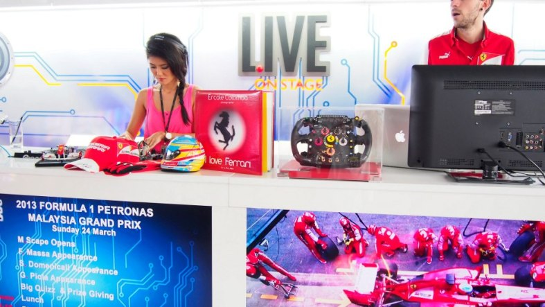 There were a lot of cool prizes to be won through the games