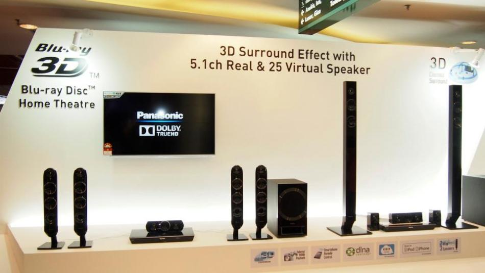 Now every TV needs a good home theater system to go with it and Panasonic provides just that with DVD/ Blu-ray players and speakers