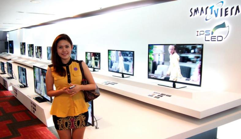 And here's Esther with the Panasonic Smart VIERA LED TVs