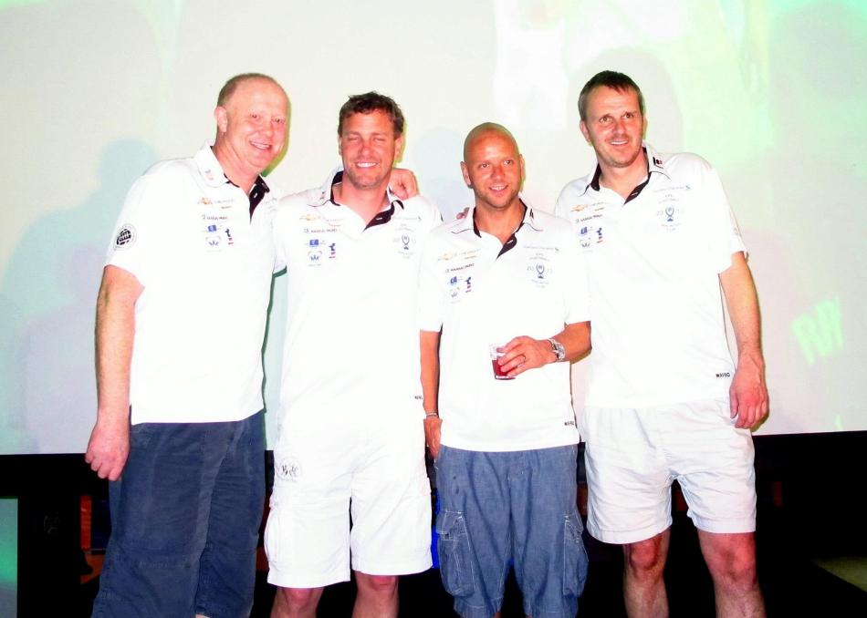 The legends appeared in batches. Here are Mark Wright, Tore Andre Flo, Frank Leboeuf and Dietmar Hamann.