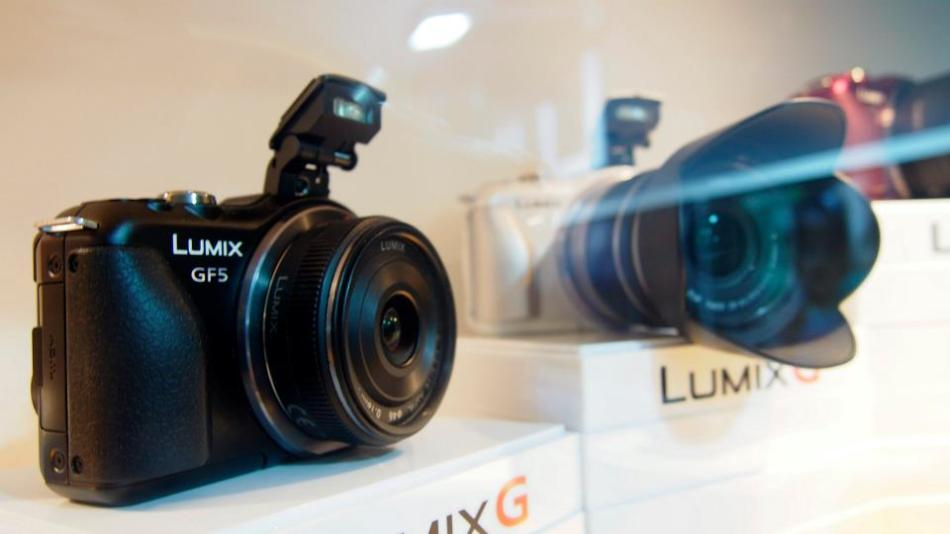 Now these babies reallyhad my attention - new Lumix cameras!
