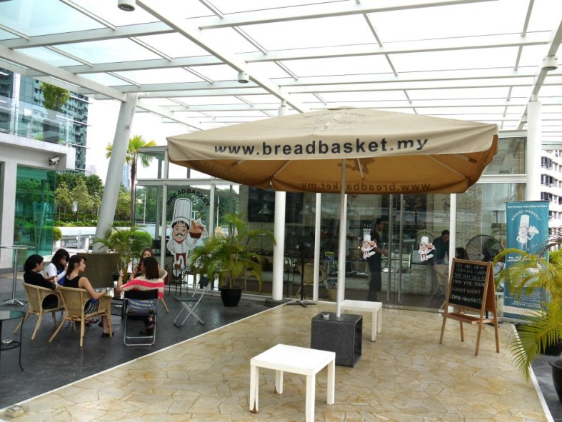Nestled in a corner of Bangsar South is Bread Basket