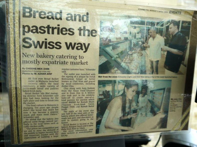 Some celebs have visited Bread Basket too!