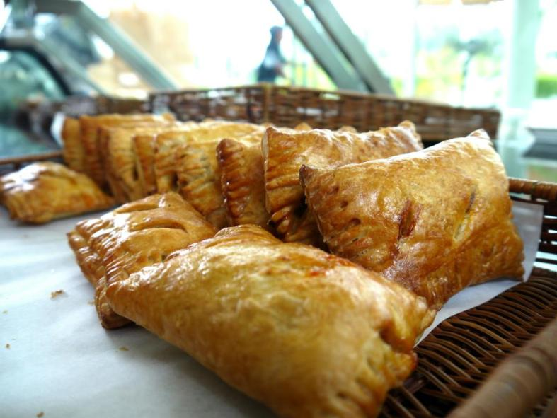 Malaysians just love our curry puffs don't we? The ones at Bread Basket are surprisingly spicy!