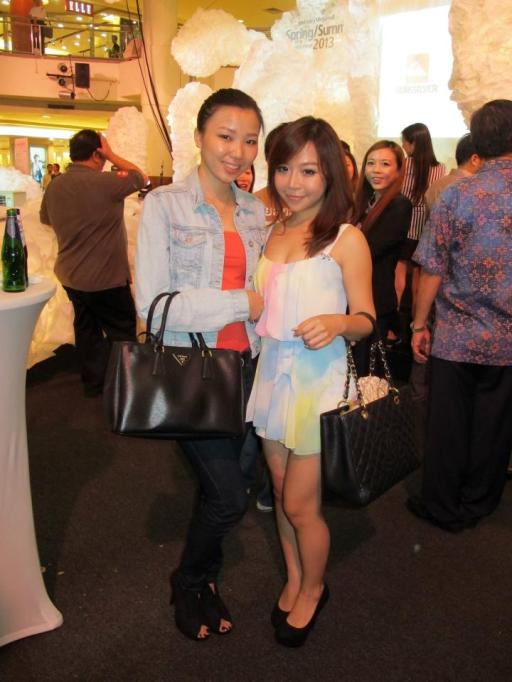 With me was MHB's Chenelle and her friend