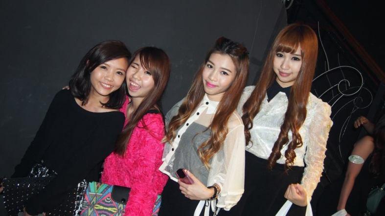 ?, Chanwon, Vickybobo and Doris