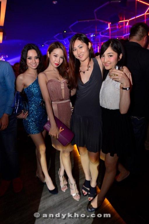 Stephinie Tan, Dawn Yang, Rachel Tan and Yasueko