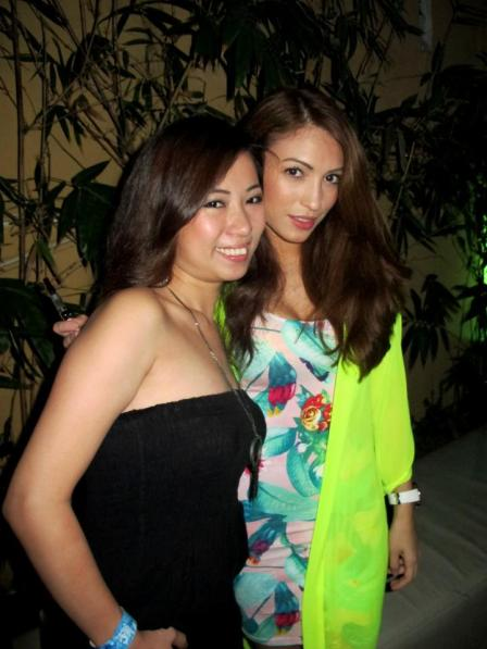 Jen with super hot model and DJ Patricia K