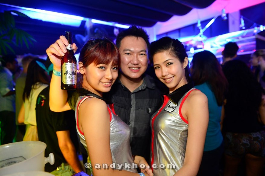 With Hanli and Estelle again. I think these two girls are really cute! Don't you agree?