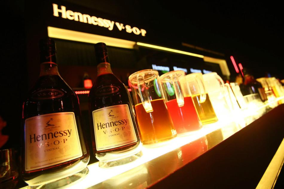 Brought to your by Hennessy V.S.O.P. - I like Hennessy Soda which is pretty refreshing.