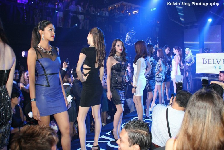 Fashion show featuring two designers one of which is Lexi Lyla by Singapore's celebrity blogger Dawn Yang.