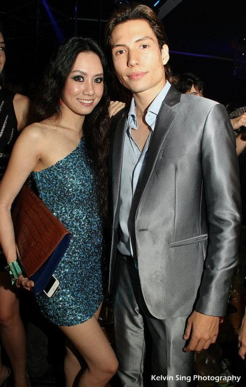 Passion for Fashion is organised by JM Productions which is helmed by Josiah Mizukami (pictured here with model and host Stephinie Tan)