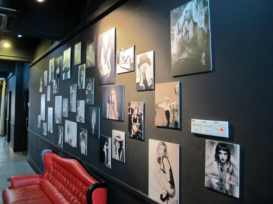 Upstairs was decorated with loads of photos as well. Upstairs offers a bit more privacy and is usually utilised by celebs/ models. I've bumped into quite a few over the years and most recently Patricia K - model and DJ and FHM Malaysia's Most Wanted Women of 2012.