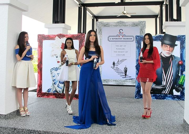 Designes by Hariharan Arasu, winner of Kronenbourg 1664 L'Aperitif Fashion 2012