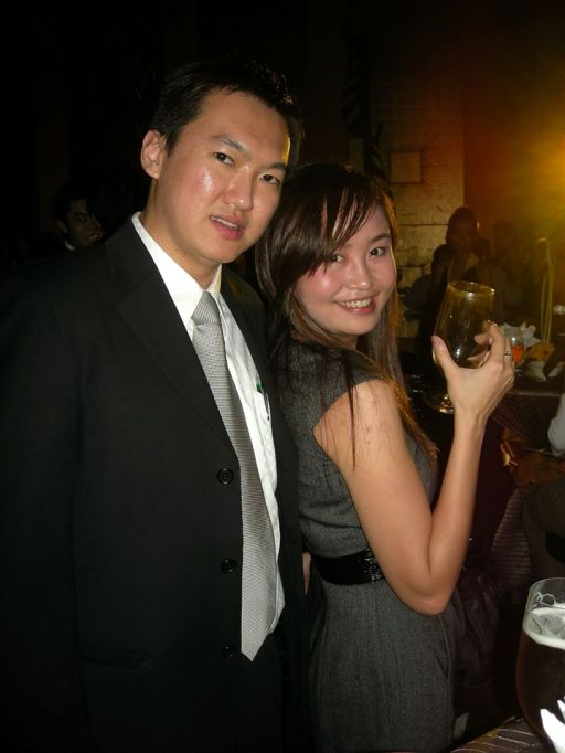 A pic with my FHM colleague Lavinne