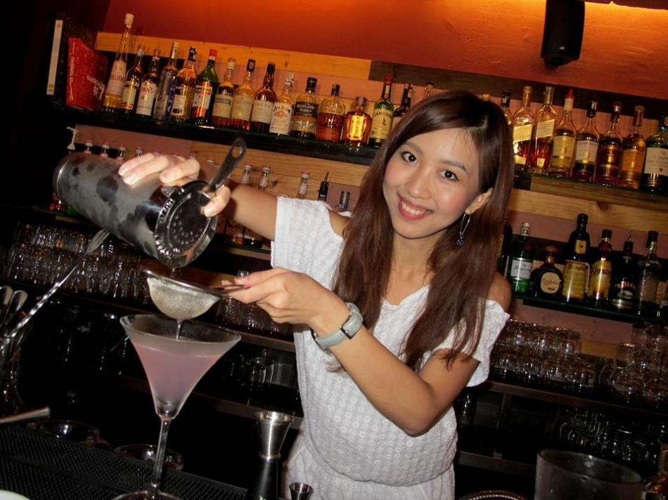 They have cocktails too and the owners were kind enough to allow my partner to play bartender andmake her own cocktail