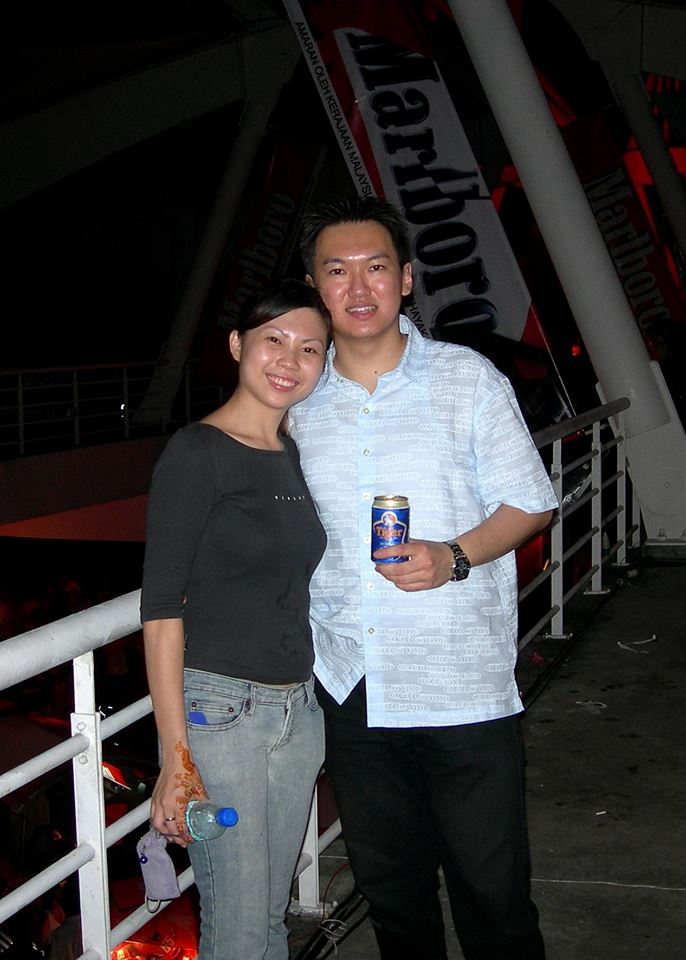 Also attended the Marlboro Speedzone at Sepang International Circuit on 9 September 2006 with Brenda Lee.