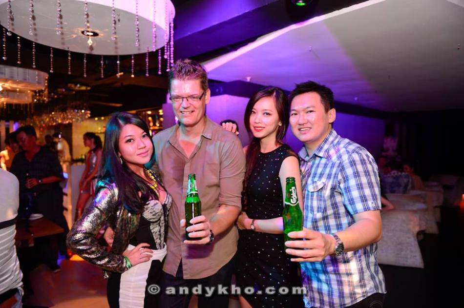 With Soren, Ju Nn and Natalia Mei (Miss Universe Malaysia 2013 1st runner up)